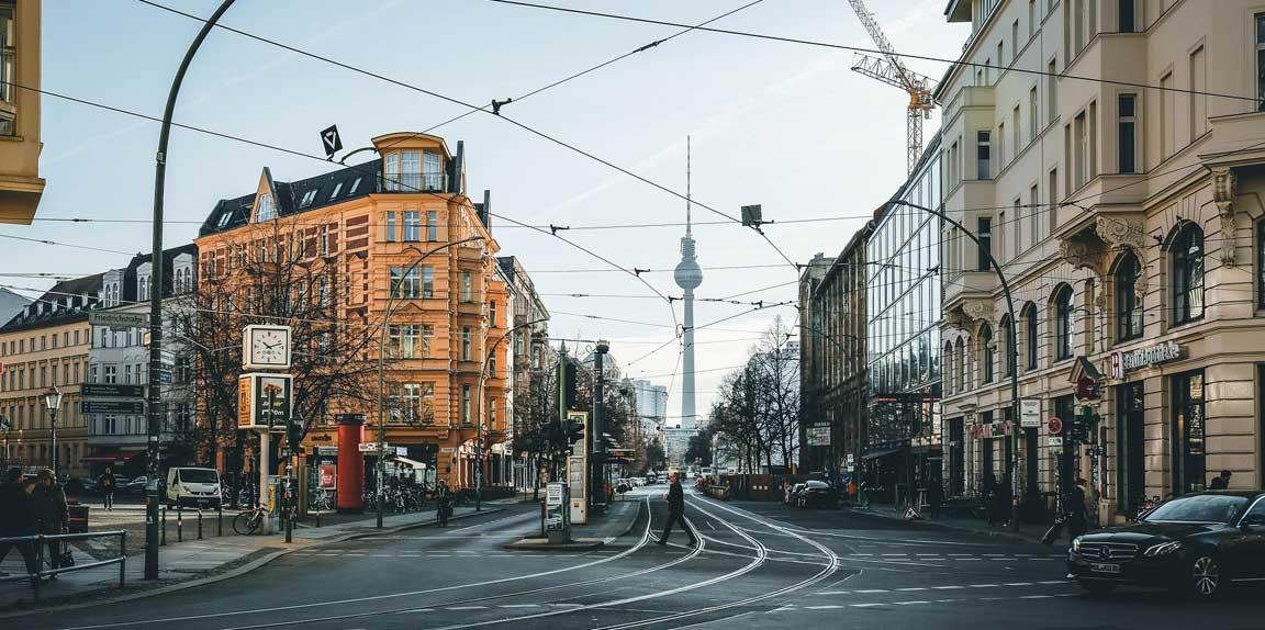 Berlin Mitte mit Fernsehturm